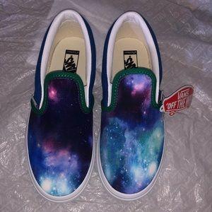 Custom galaxy vans